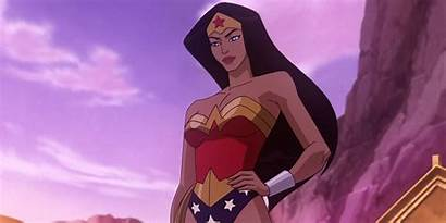Wonder Woman Animated Rated