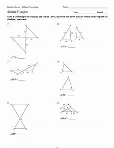 Kuta Software Right Triangles Geometric Mean