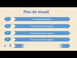 Faire Un Plan De Travail : pr senter d 39 un plan de travail anim sur powerpoint ~ Dailycaller-alerts.com Idées de Décoration