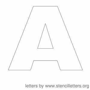 3 inch letter stencils printable letters font for 3 inch stencil letters free