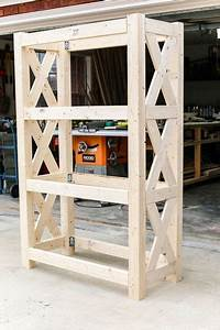 How, To, Build, A, Diy, Bookshelf, With, Simpson, Strong