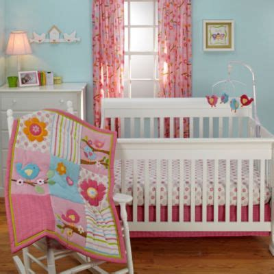 Bedding By Nojo by Nojo 174 Bedding 3 Comforter Crib Set In Sweet