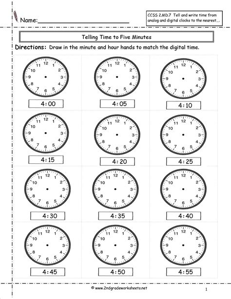 marvellous telling  writing time worksheets clock
