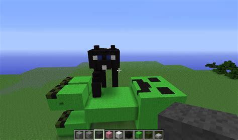 Cat VS Creeper Minecraft Project
