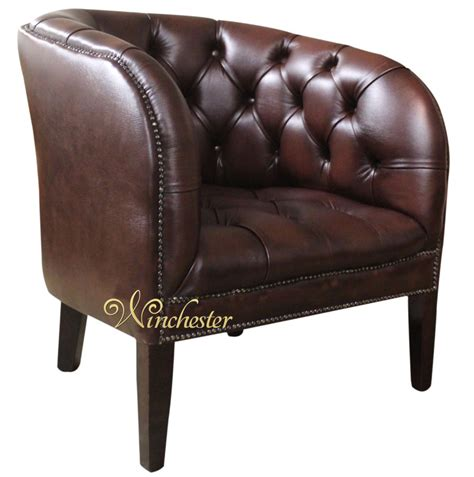 chesterfield jasper low back tub chair uk manufactured