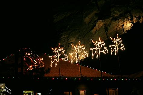 the weller family seven falls holiday lights