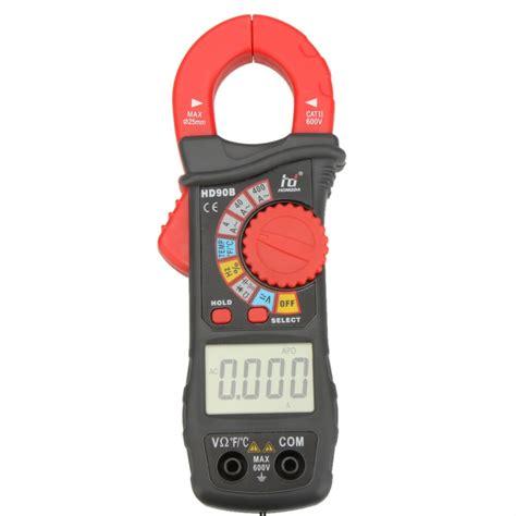 Hdb Digital Clamp Meter Auto Range Multimeter Amp