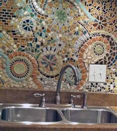 kitchen backsplash mosaic tiles mosaic backsplash curbly