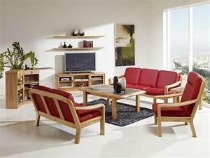 Meuble Salon Bois : inspiration design lustres ~ Teatrodelosmanantiales.com Idées de Décoration
