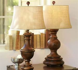 excellent target wood table lamps table lamp tripod table With cordless lamps pottery barn