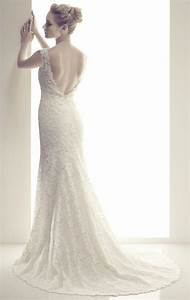 new sheath white ivory v neck wedding dresses backless With v neck sheath wedding dress