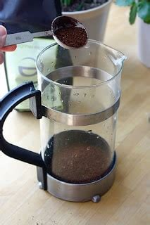 That's the cup size used in the u.s. How Much Coffee Goes Into A French Press • Top Off My Coffee Please