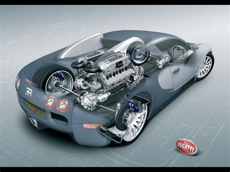 The Bugatti Veyron W16 Engine