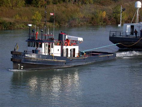 Lockmaster Canal Boats For Sale by Russel Brothers Ltd Steelcraft Winch Boat And Warping Tug
