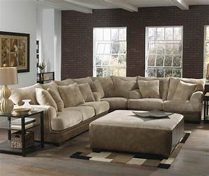 L Sofa : barkley large l shaped sectional sofa with right side loveseat by jackson furniture wolf ~ Buech-reservation.com Haus und Dekorationen