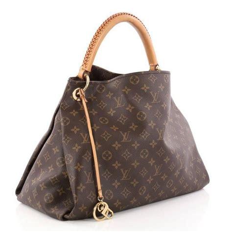 louis vuitton artsy mm monogram canvas handbag  stdibs