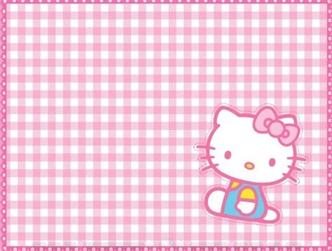 pink  kitty square background vector titanui
