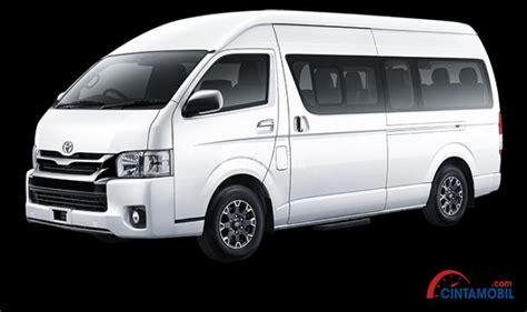 Gambar Mobil Toyota Hiace by Harga Toyota Hiace Agustus 2019