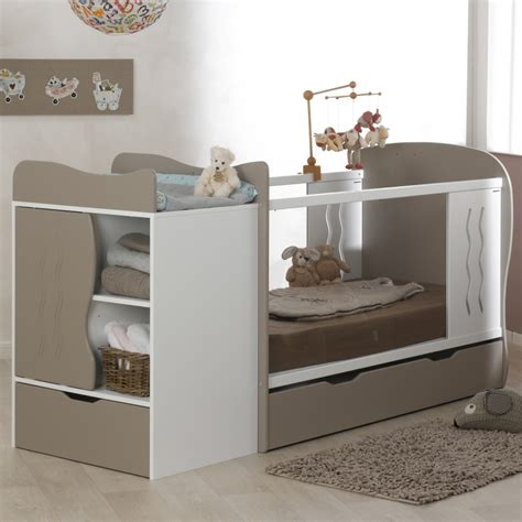 chambre bebe lit evolutif lit évolutif avec tiroir blanc 70x140 marilinm01e