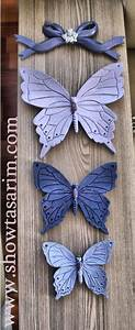 13 best polyester boyama ornekleri images on pinterest With best brand of paint for kitchen cabinets with wall art butterflies and flowers
