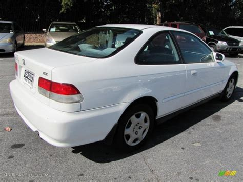 Taffeta White 1999 Honda Civic Ex Coupe Exterior Photo