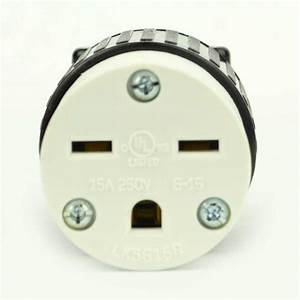 Superior Electric Yga020f Straight Electrical Receptacle 3