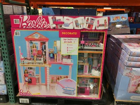 Barbie House & Pool Giftset with 3 Barbie Dolls ? CostcoChaser