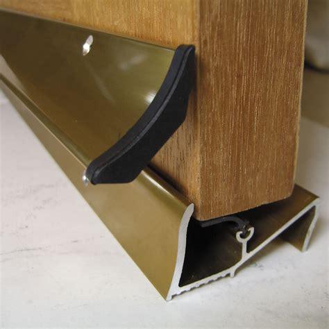 Stormguard Aluminium & Rubber Self Adhesive Door Seal, (l