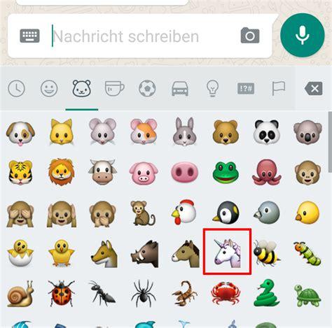 Neues Smiley In Whatsapp Nutzen & Kopieren