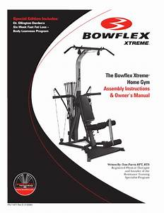 Bowflex Home Gym 2 User U0026 39 S Guide