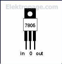 7805 voltage regulator circuit 7805 free engine image for 7805 pin diagram