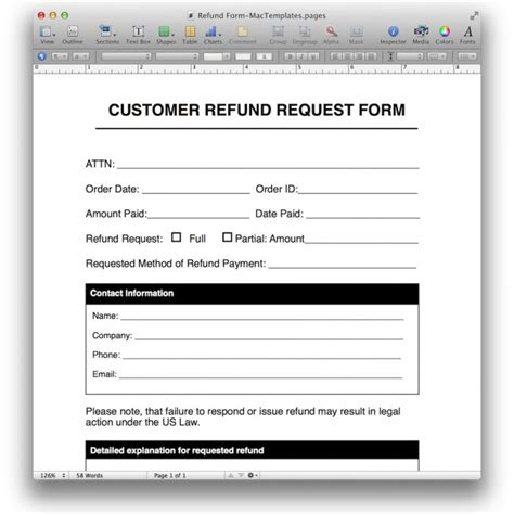 reimbursement form template playbestonlinegames