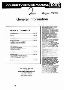 Ferguson 7233c Colour Television Service Manual Download