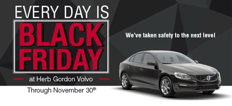herb gordon volvo  day  black friday