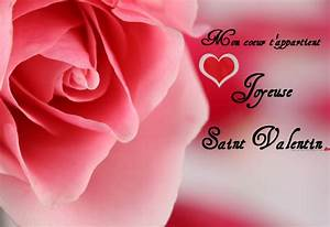 Cartes De Voeux Pour La St Valentin Message D39amour