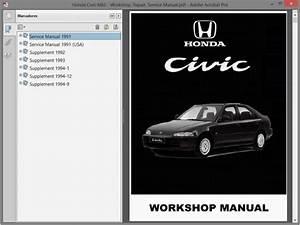 Honda Civic Mk5 Service Manual