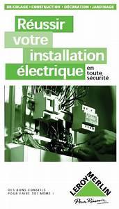 Livre L Installation Electrique : livres scientifiques gratuits r ussir votre installation ~ Premium-room.com Idées de Décoration