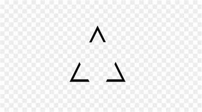 Transparent Triangle Minimal Hipster Picsart Arrow Clipart