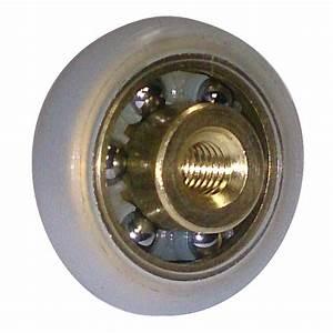 petits roulements polyurethane polyamide rouleaux With roulement a bille pour porte de douche