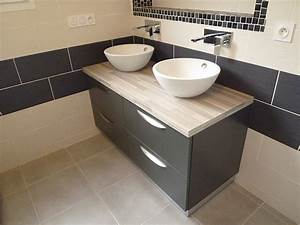 mobilier de salle de bain sur mesure dans les landes 40 With mobilier sdb