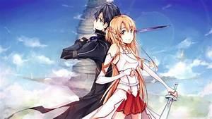 HD Asuna and Kirito Sword Art Online Wallpaper | Download ...