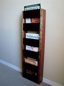 186 - Wall-Hanging Magazine Rack - The Wood Whisperer