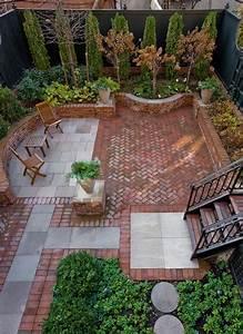 pavers plus brick ideas for the house pinterest With beautiful amenagement de jardin avec des pierres 4 le jardin mediterraneen photo de jardins de kerdalo
