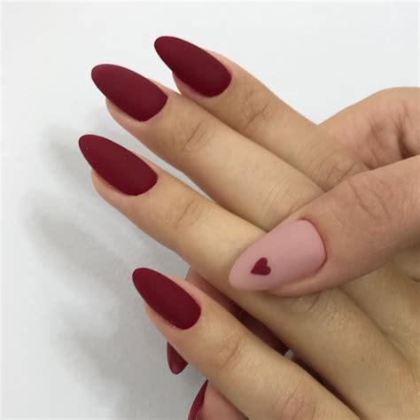 Маникюр 2020Матовые Красные Ногтивариант Дизайна на себе YouTube
