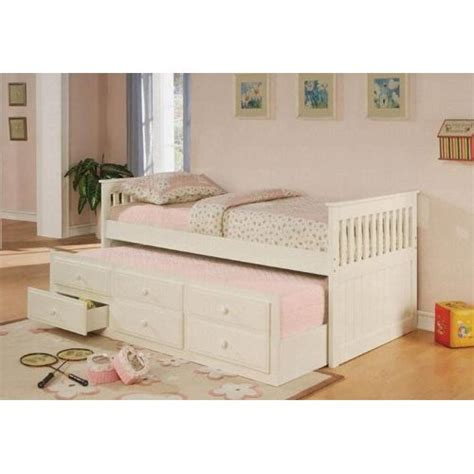 Bed With Trundle Ikea by Coaster Furniture 300107 Mission Style Day Bed With