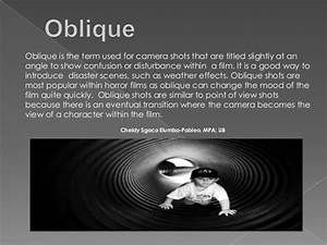 Image Gallery oblique angle camera