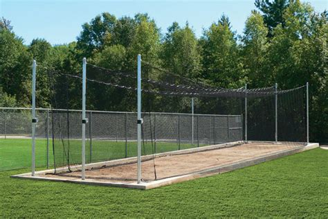 Batting Cage Backyard by Outdoor Batting Cage Tensioned System