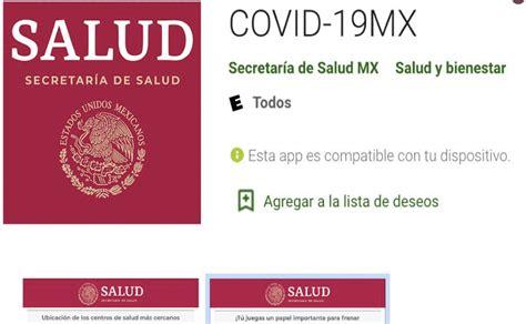 Sitio de secretaría de salud. Secretaría de Salud lanza app para hacerle frente al Covid-19, ya está disponible | El Gráfico ...