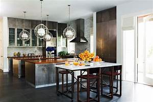 Metal kitchen cabinets eclectic kitchen nate berkus for What kind of paint to use on kitchen cabinets for metal wall art mirrors