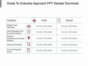 Guide To Outcome Approach Ppt Sample Download